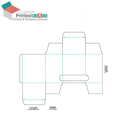 Perforated-Dispenser-Box-Template